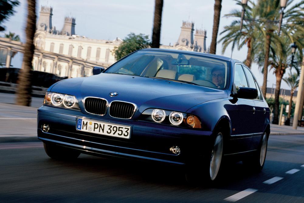 BMW 5 серия 4 поколение E39 [рестайлинг] (2000-2004) Седан