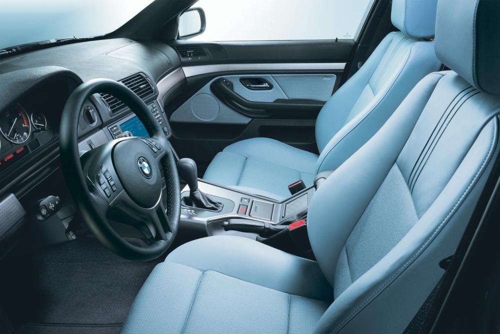 BMW 5 серия 4 поколение E39 [рестайлинг] (2000-2004) Седан интерьер