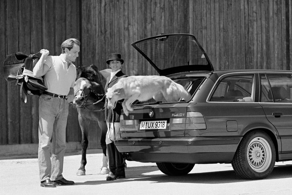 BMW 5 серия 3 поколение E34 (1992-1996) Touring универсал