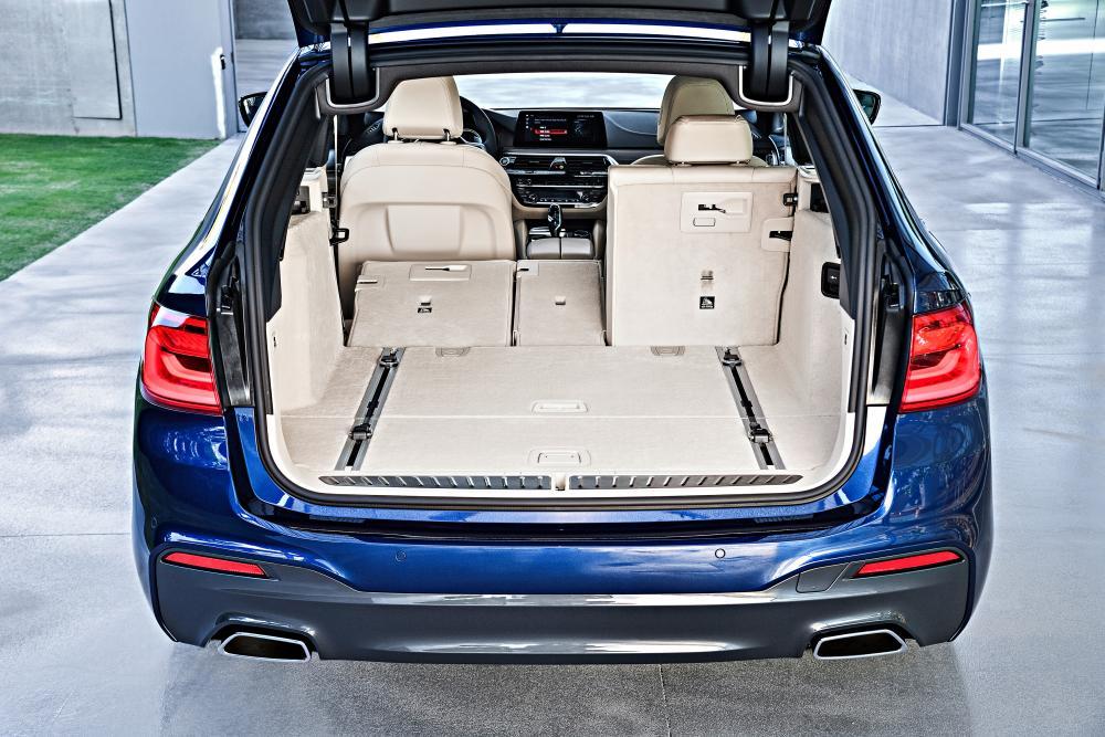BMW 5 серия 7 поколение G30 (2017-2020) Touring универсал багажник