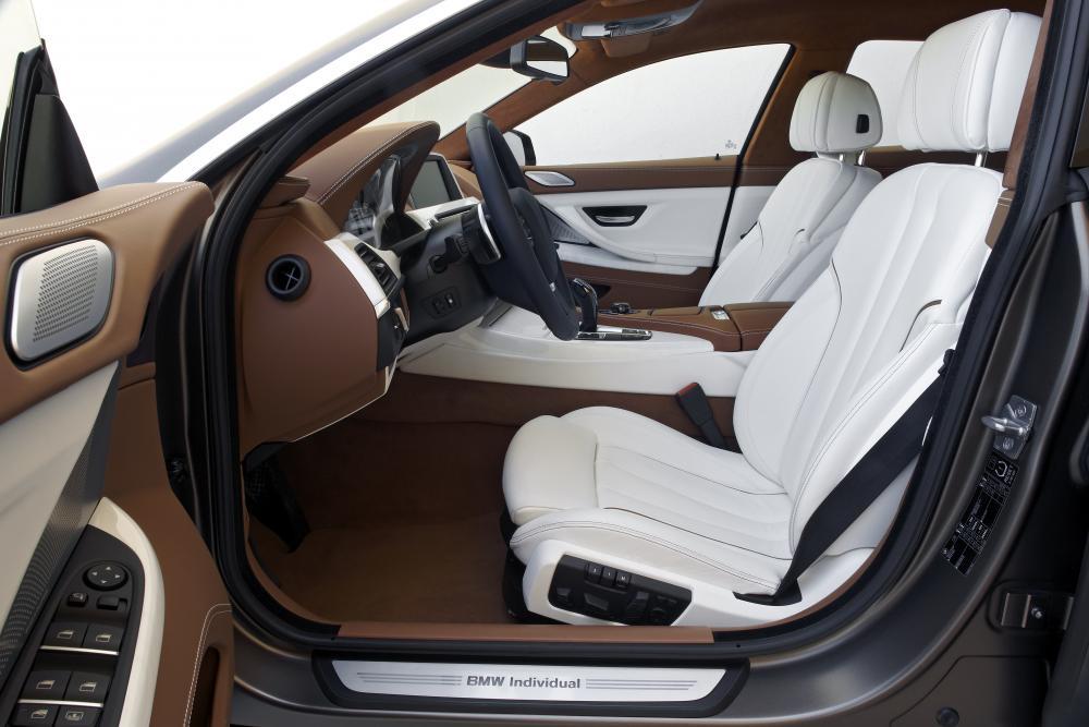 BMW 6 серия F06 (2012-2015) Gran Coupe седан интерьер