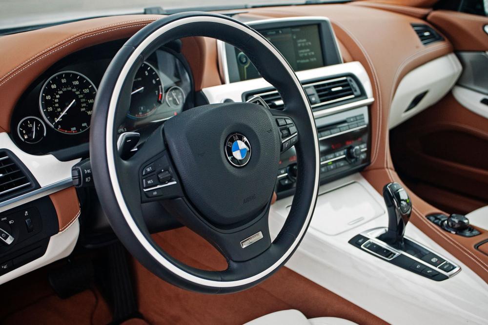 BMW 6 серия 3 поколение F06 (2012-2015) Gran Coupe седан интерьер