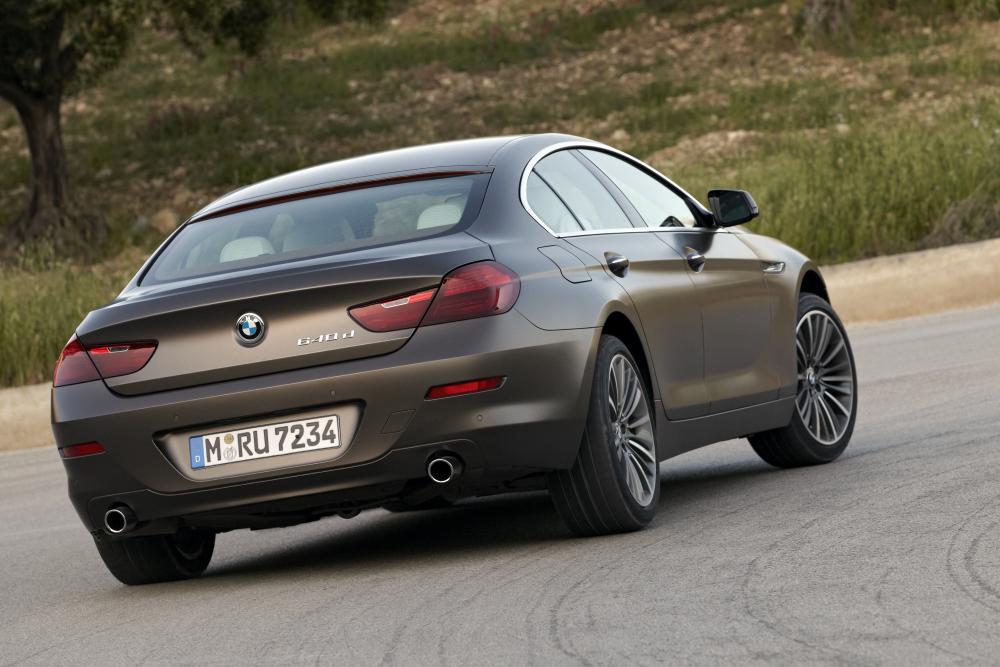 BMW 6 серия 3 поколение F06 (2012-2015) Gran Coupe седан