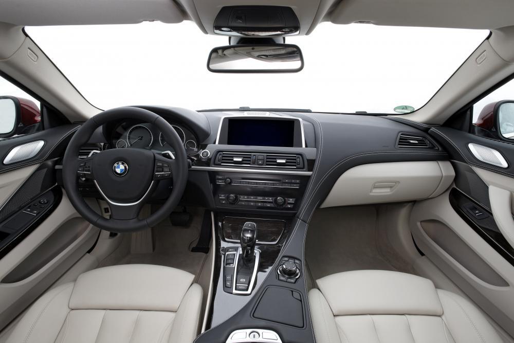 BMW 6 серия 3 поколение F13 (2011-2015) Купе интерьер