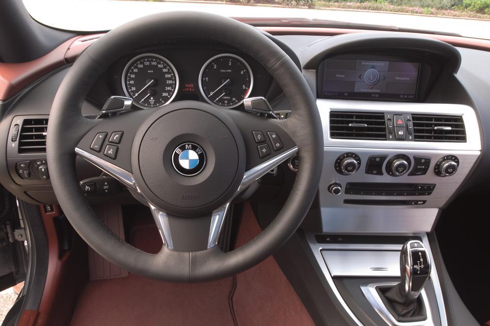 BMW 6 серия 2 поколение E63 рестайлинг (2007-2010) Купе интерьер