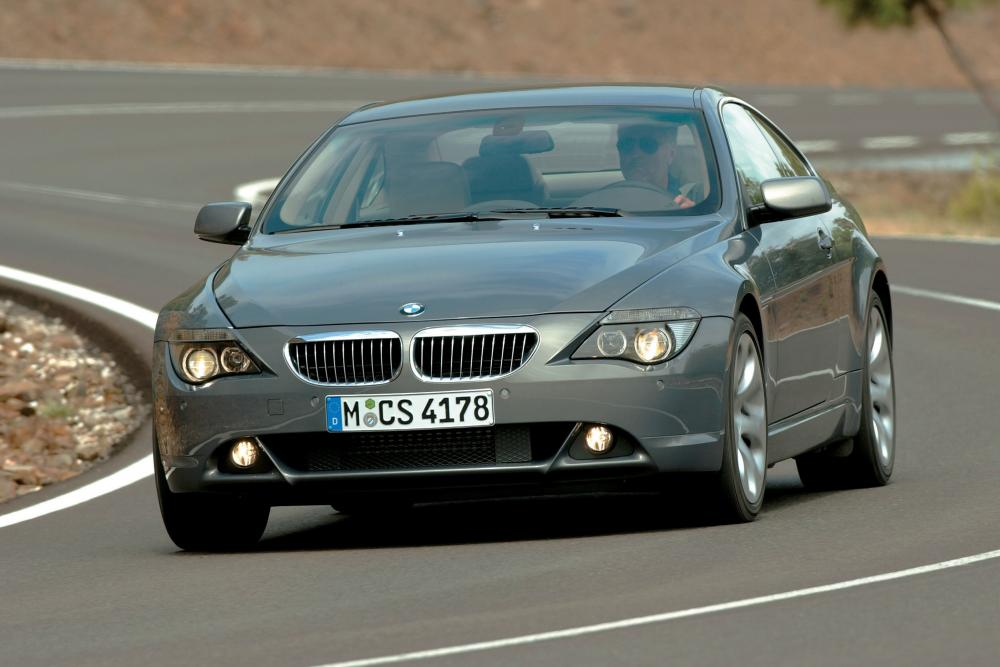 BMW 6 серия 2 поколение E63 (2003-2007) Купе