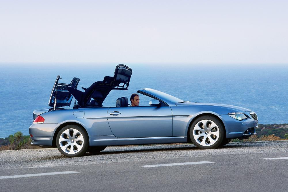 BMW 6 серия 2 поколение E64 (2004-2007) Кабриолет