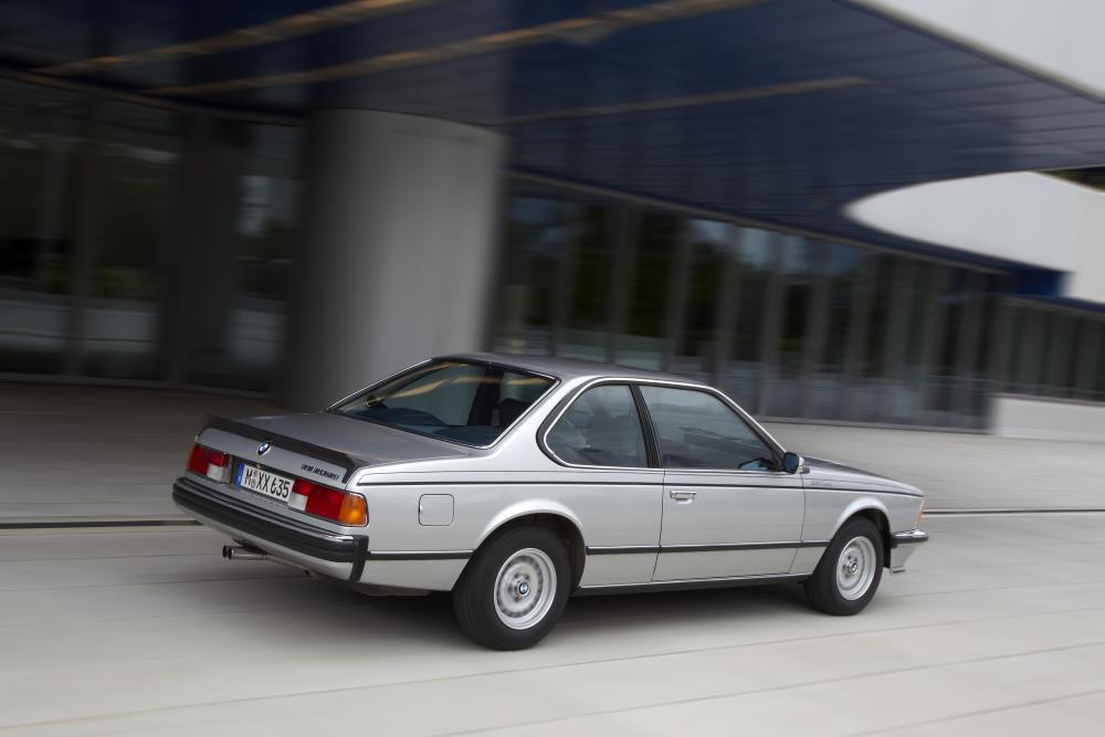 BMW 6 серия 1 поколение E24 [рестайлинг] (1978-1987) Купе