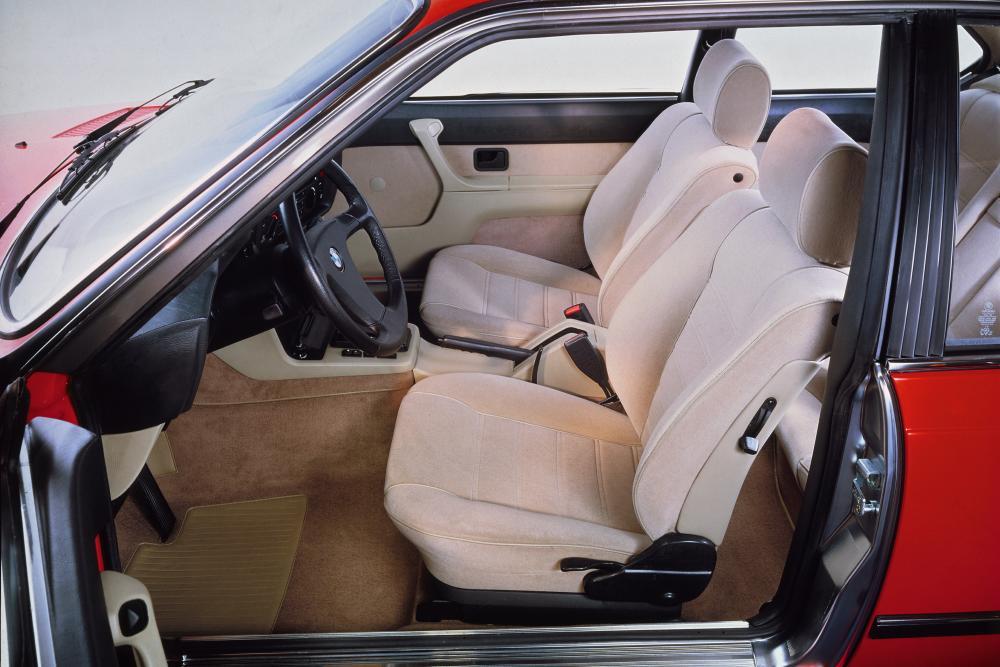 BMW 6 серия 1 поколение E24 (1975-1984) Купе интерьер