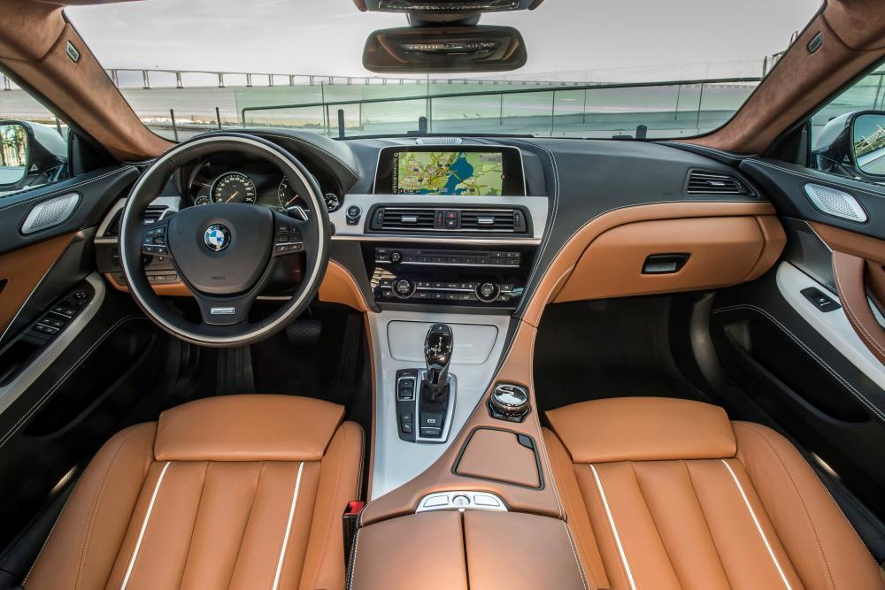 BMW 6 серия F06 рестайлинг (2015-2017) Gran Coupe интерьер