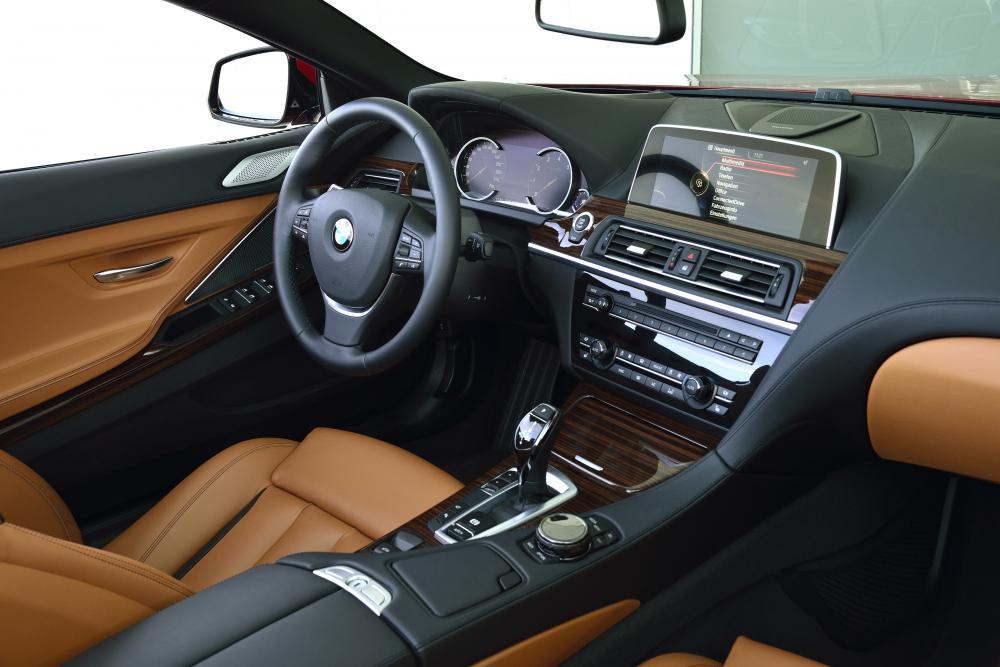 BMW 6 серия 3 поколение F12 [рестайлинг] (2015-2018) Кабриолет интерьер