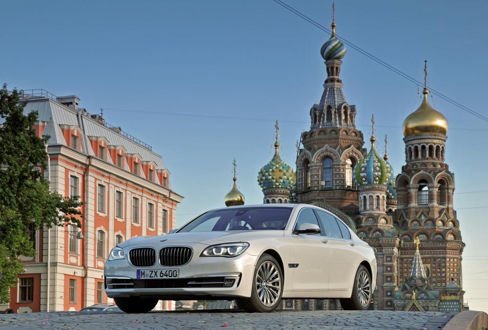BMW 7 серия 5 поколение F01/F02 [рестайлинг] (2012-2015) Седан