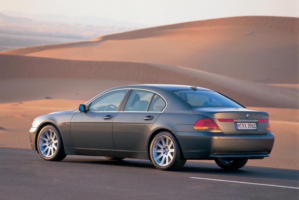 BMW 7 серия 4 поколение E65/E66 (2001-2005) Седан 4-дв.
