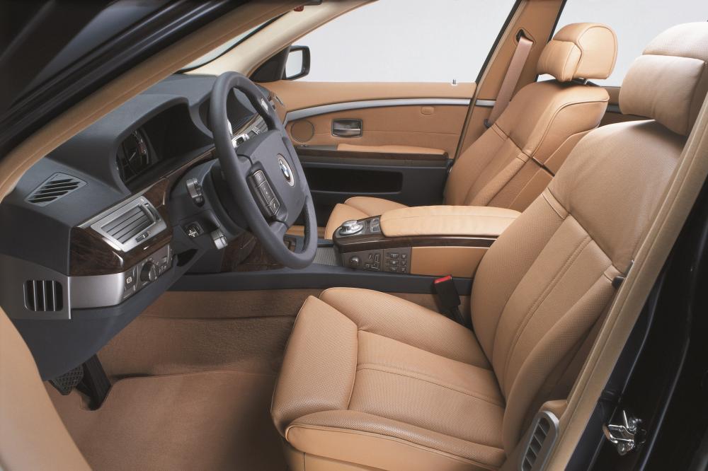 BMW 7 серия 4 поколение E65/E66 (2001-2005) Седан 4-дв. интерьер
