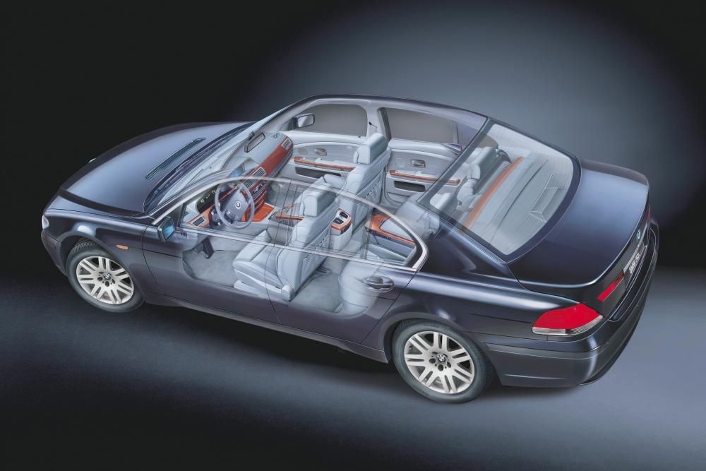 BMW 7 серия 4 поколение E65/E66 (2001-2005) Седан 4-дв. рентген