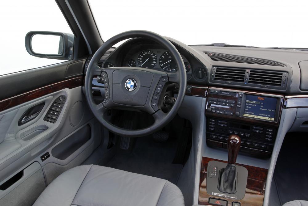 BMW 7 серия 3 поколение E38 [рестайлинг] (1998-2001) Седан интерьер