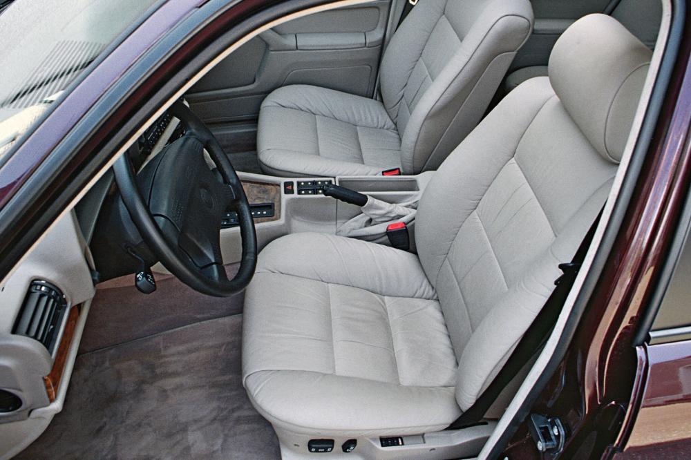 BMW 7 серия 2 поколение E32 (1986-1994) Седан интерьер