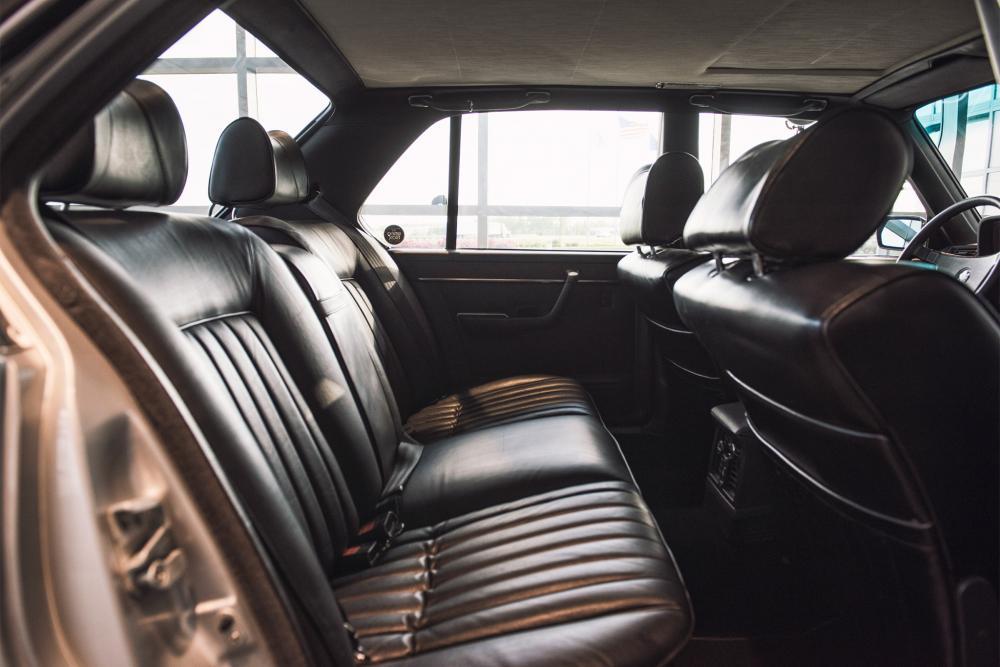 BMW 7 серия 1 поколение E23 (1977-1982) Седан интерьер