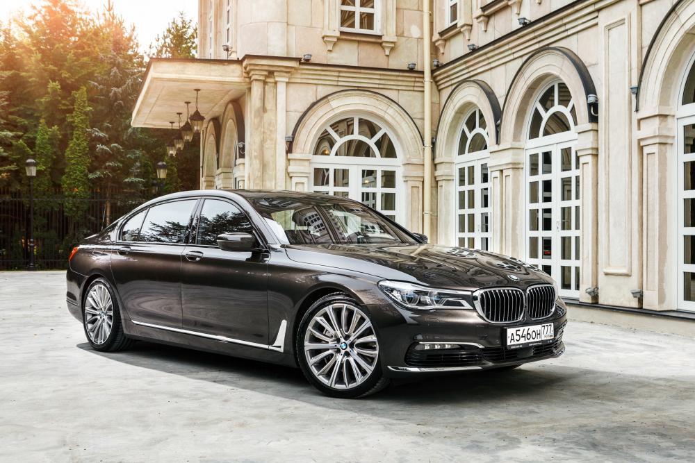 BMW 7 серия 6 поколение G11/G12 (2015-2019) Седан