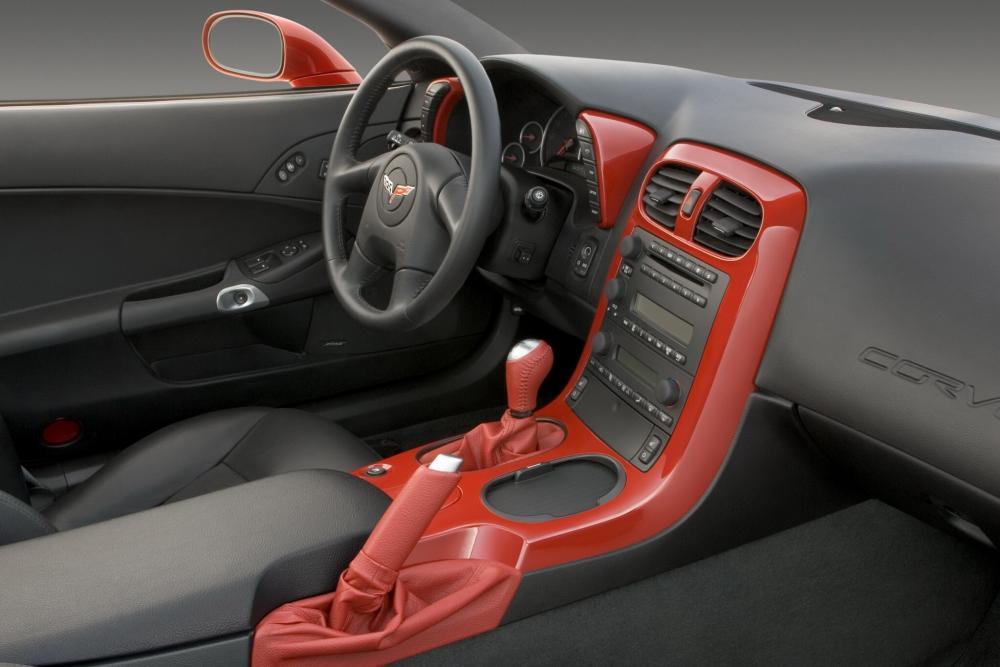 Chevrolet Corvette C6 Тарга интерьер