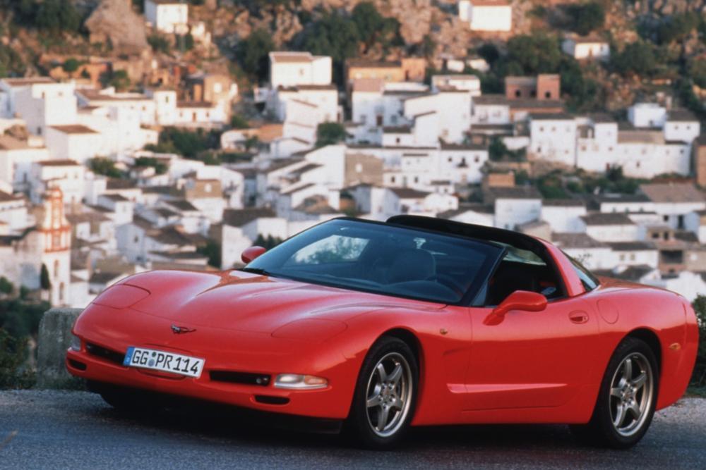 Chevrolet Corvette C5 Тарга