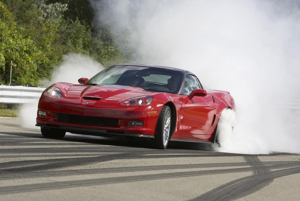 Chevrolet Corvette C6 рестайлинг ZR1 тарга 2-дв.