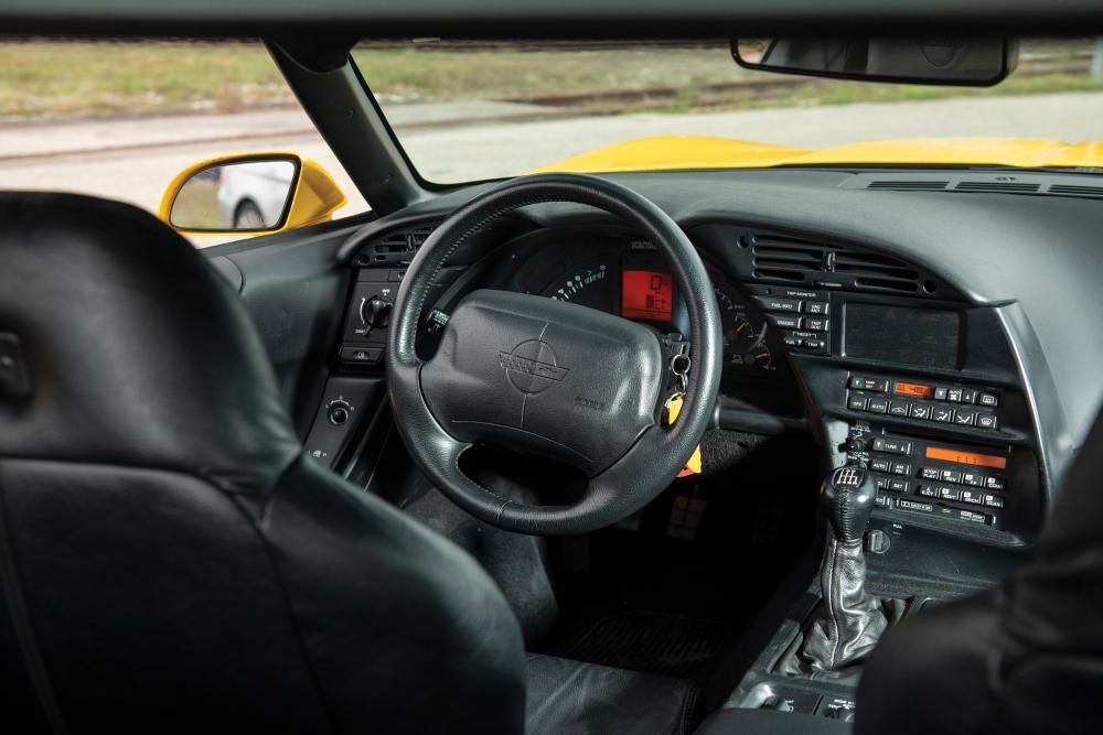 Chevrolet Corvette C4 2-й рестайлинг ZR1 тарга 2-дв. интерьер