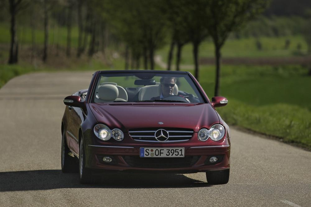 Mercedes-Benz CLK-Класс A209 рестайлинг (2005-2010) Кабриолет 2-дв.