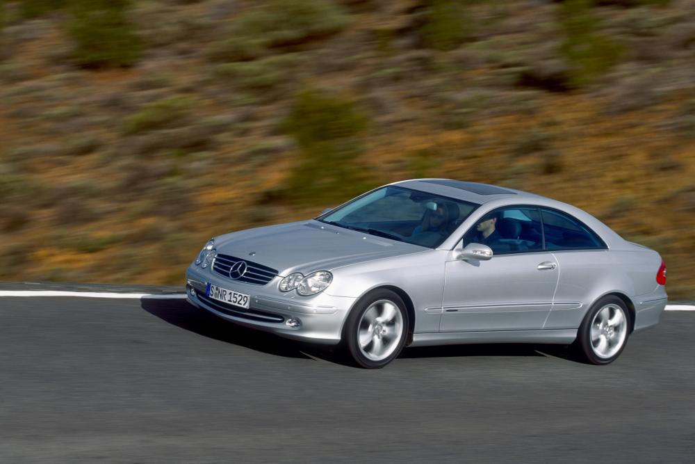 Mercedes-Benz CLK-Класс C209 (2002-2005) Купе