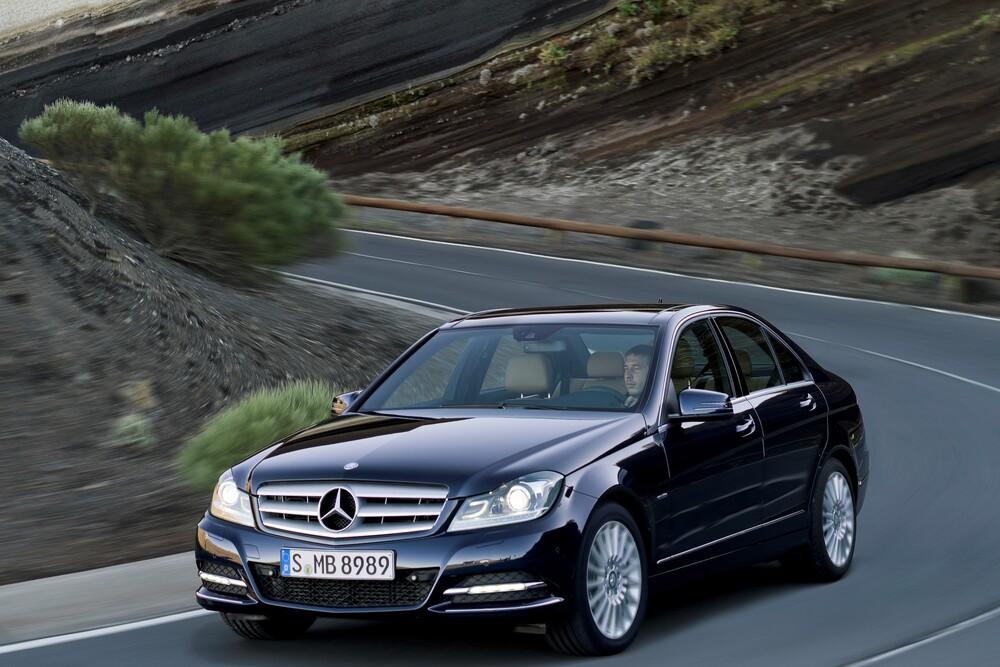 Mercedes-Benz C-Класс W204 [рестайлинг] (2011-2018) Седан 4-дв.