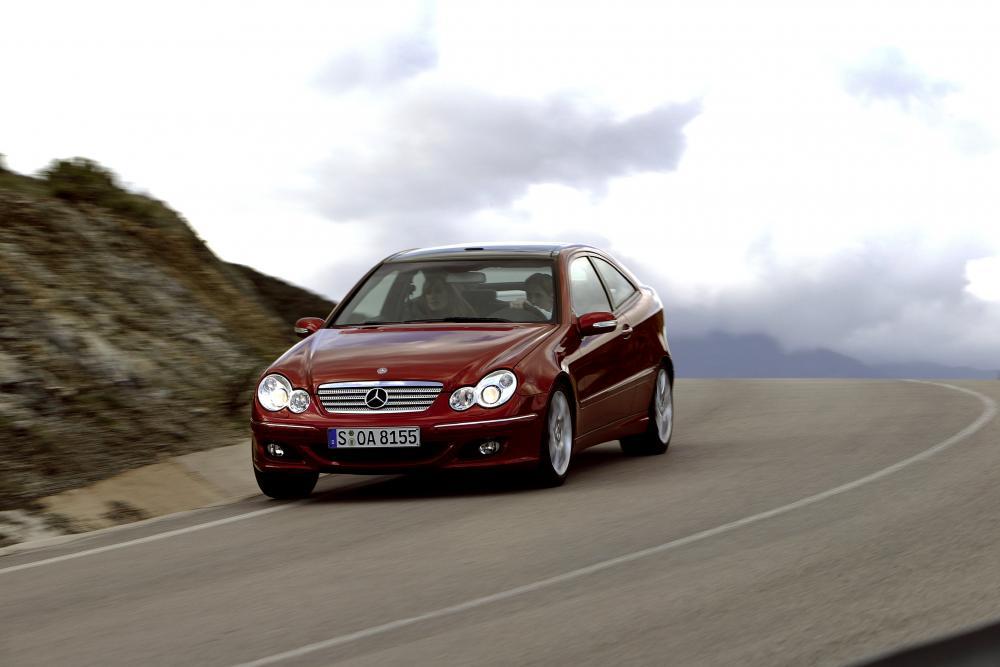 Mercedes-Benz C-Класс CL203 рестайлинг (2004-2007) Купе
