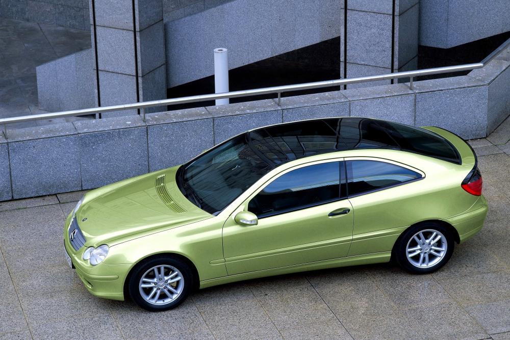 Mercedes-Benz C-Класс CL203 (2001-2004) Купе 3-дв.