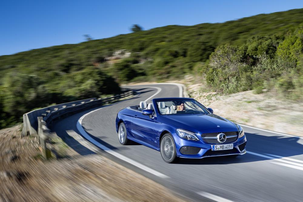 Mercedes-Benz C-Класс A205 кабриолет в динамике