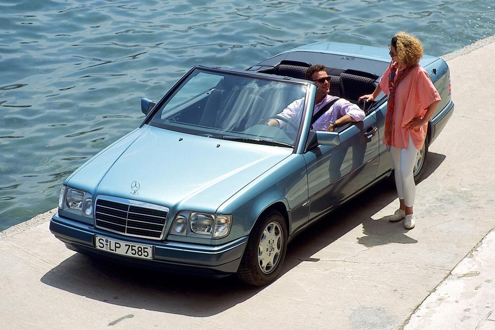 Mercedes-Benz E-Класс W124 2-й рестайлинг (1993-1997) Кабриолет