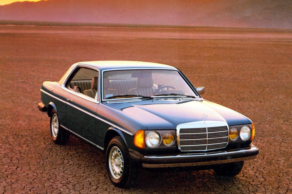 Mercedes-Benz E-Класс W123 (1977-1986) Купе 2-дв.