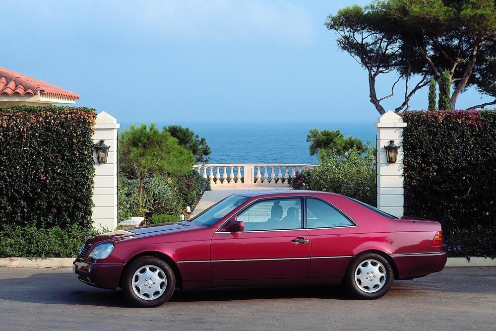 Mercedes-Benz S-Класс C140 (1991-1993) Купе
