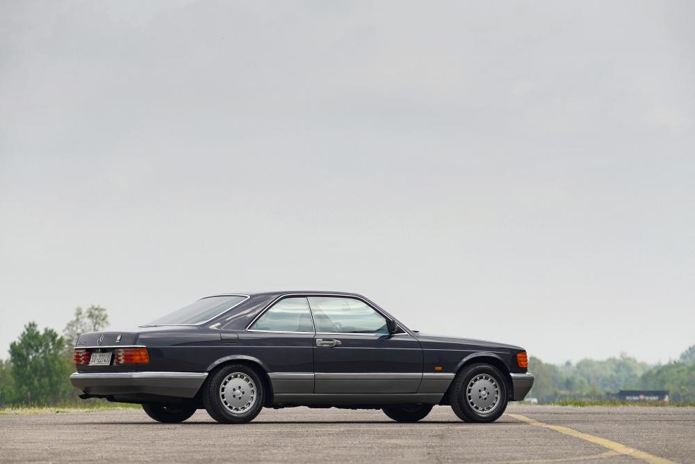 Mercedes-Benz S-Класс C126 [рестайлинг] (1985-1991) Купе