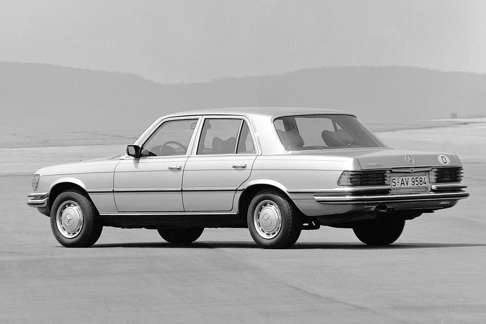 Mercedes-Benz S-Класс W116 (1972-1980) Седан