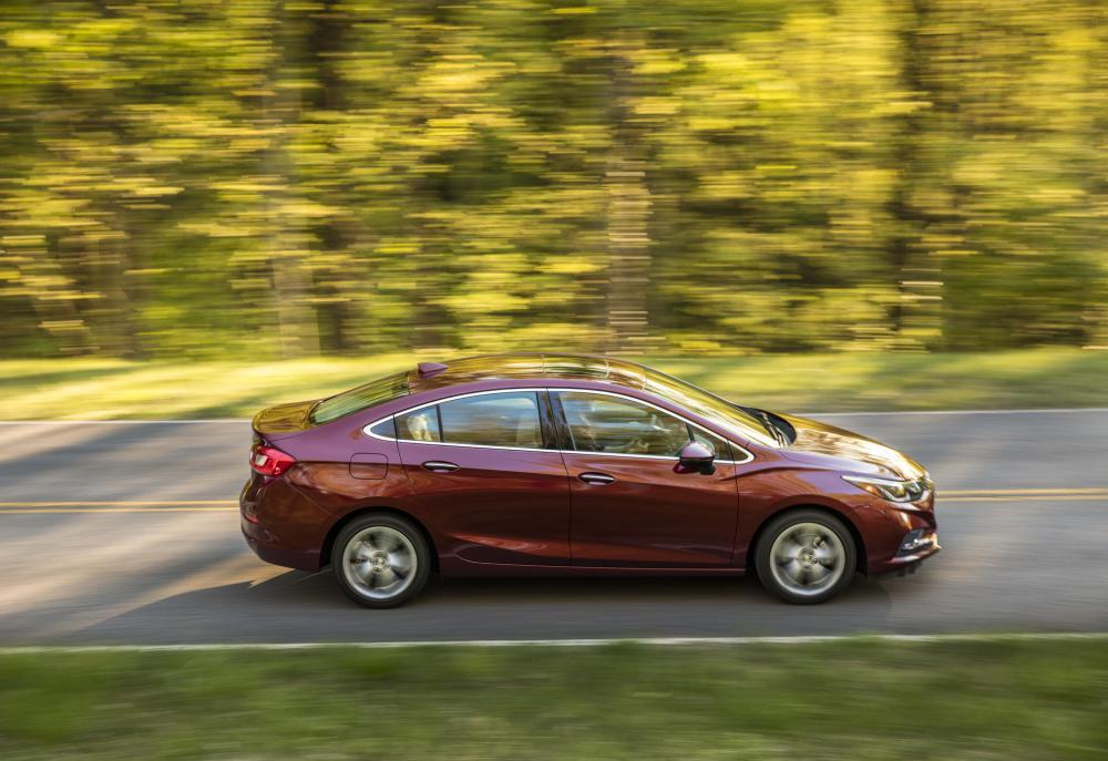 Chevrolet Cruze 3 поколение (2015-2018) Седан