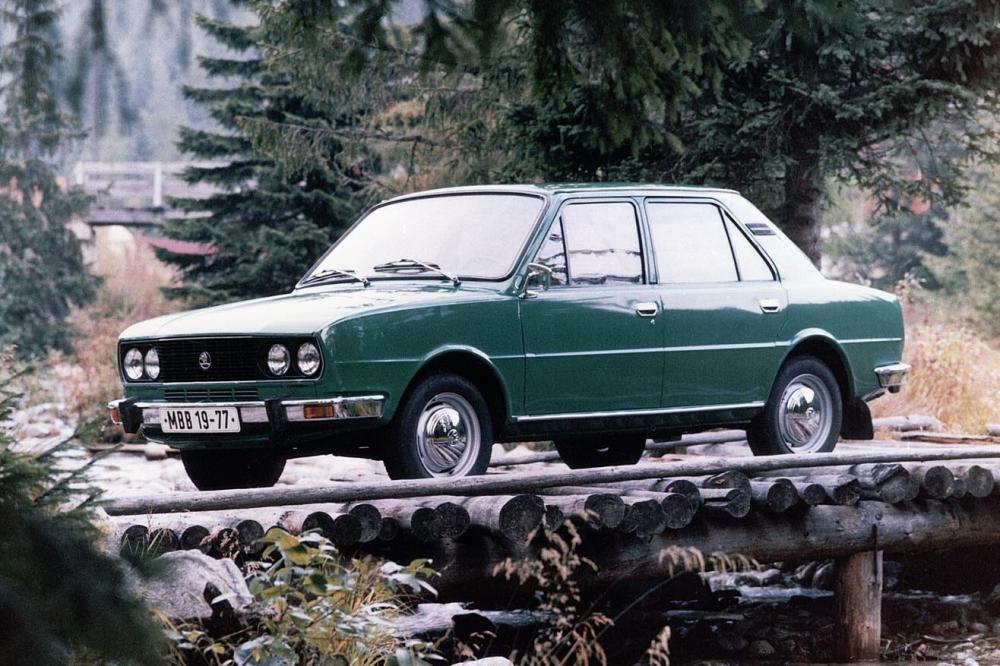 Skoda 105/120/130 1 поколение (1976-1983) Седан