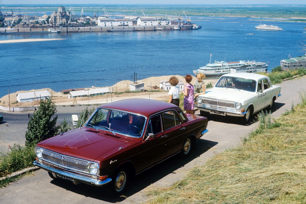 ГАЗ 24 Волга Первая серия (1968-1986) Седан