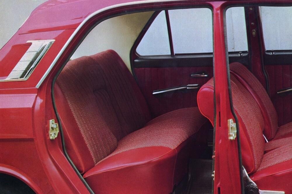 ГАЗ 24 Волга Первая серия (1968-1986) Седан интерьер