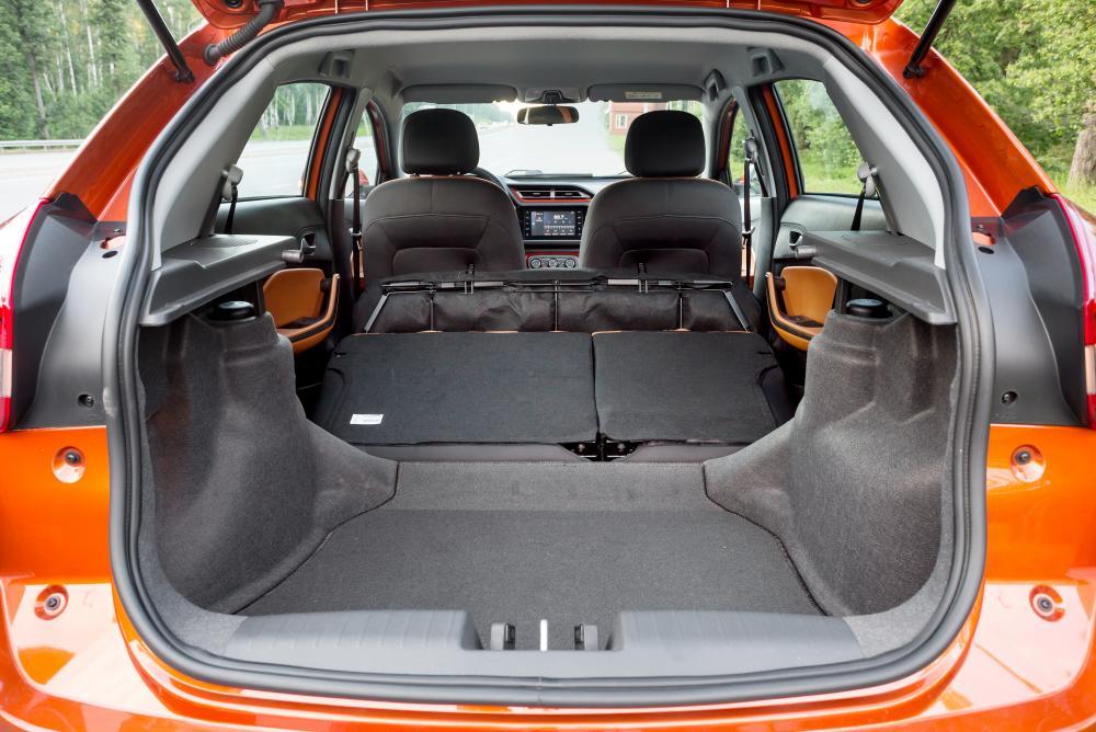 Chery Tiggo 2 1 поколение (2017-2020) Хетчбэк багажник