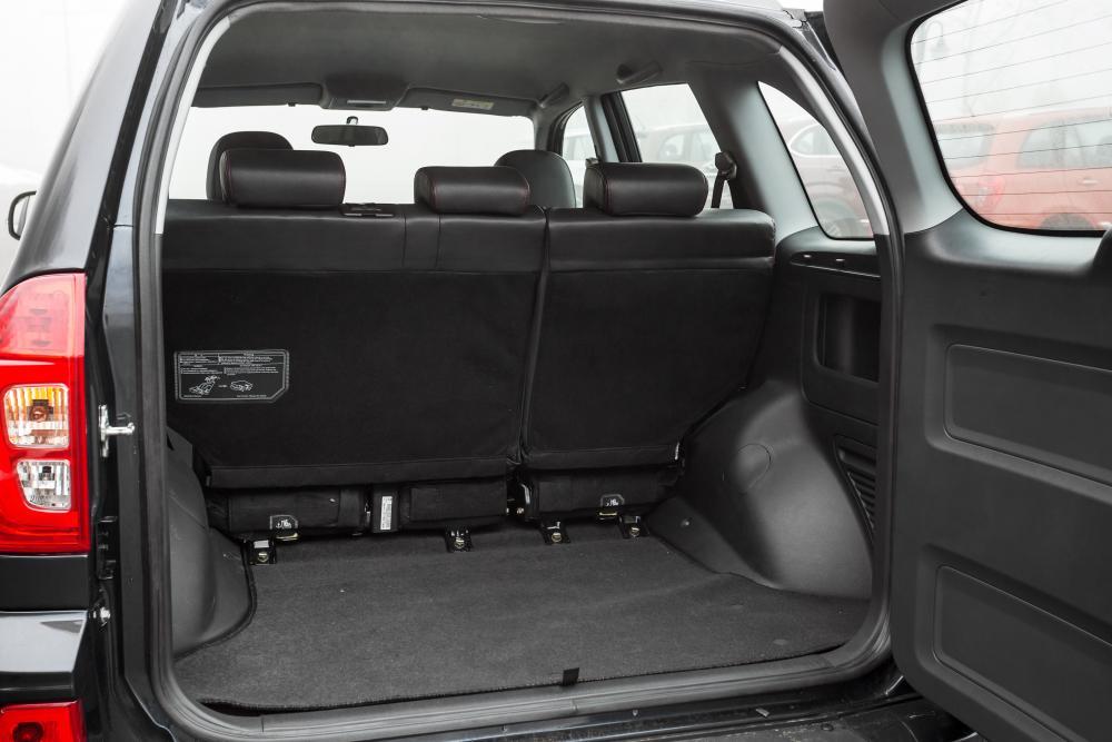 Chery Tiggo 3 1 поколение (2016-2020) Кроссовер багажник