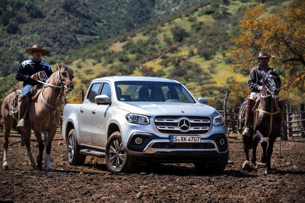 Mercedes-Benz X-Класс и ковбои