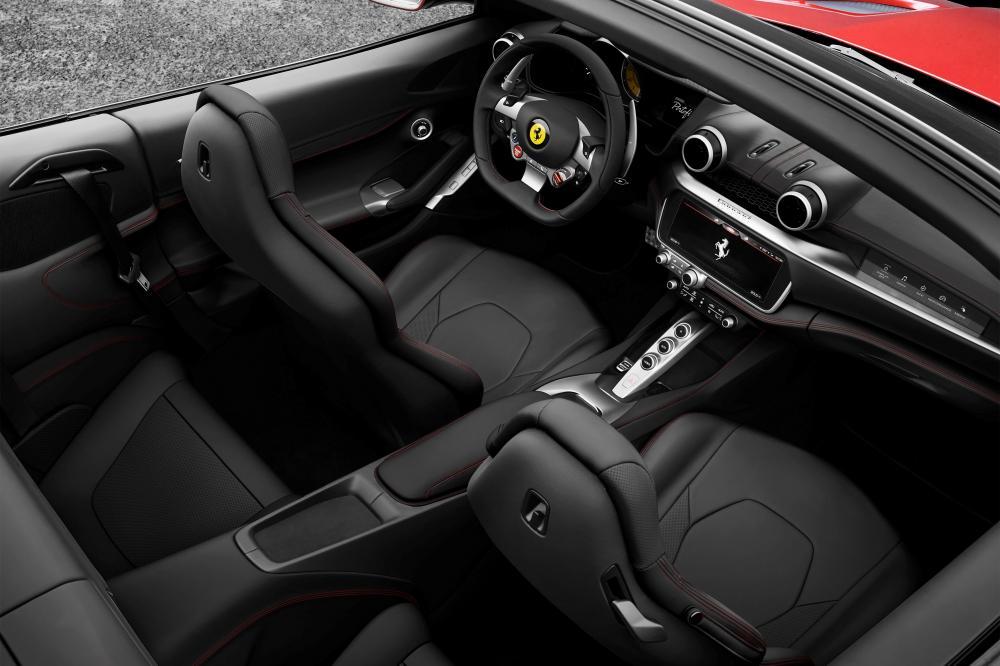 Ferrari Portofino 1 поколение (2017) Кабриолет интерьер