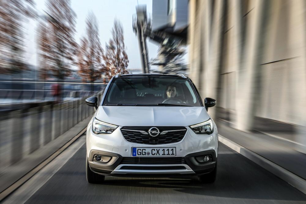 Opel Crossland X 1 поколение (2017-2020) Кроссовер
