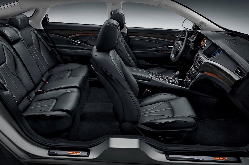 Geely Emgrand GT 1 поколение (2015-2020) Седан интерьер