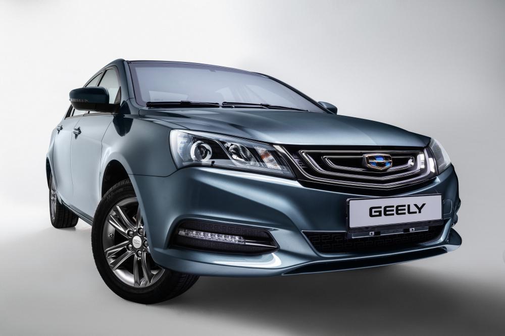 Geely Emgrand 7 1 поколение [рестайлинг] (2018-2020) Седан интерьер