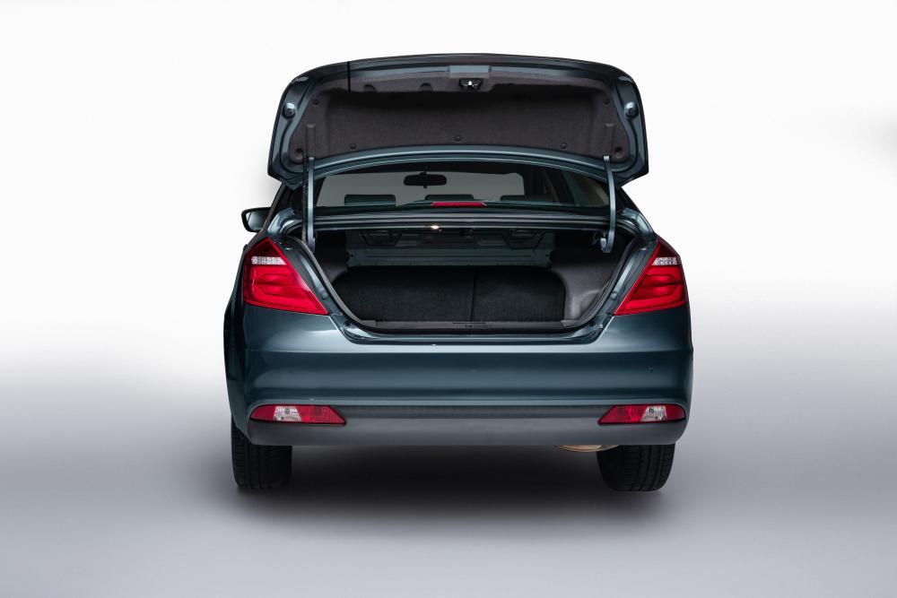Geely Emgrand 7 1 поколение [рестайлинг] (2018-2020) Седан багажник